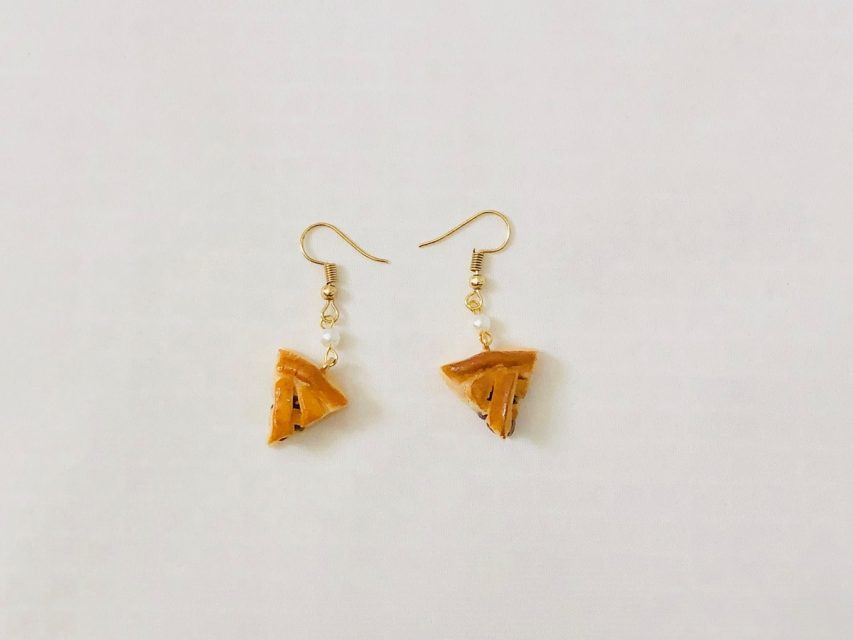 [SOLD OUT] デザートピアス [レーズンパイ]