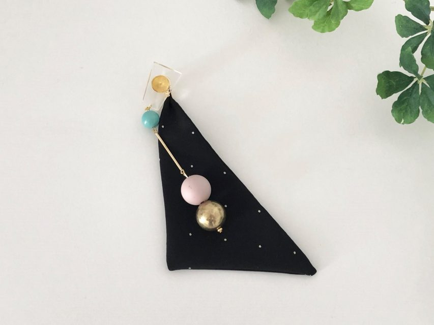 [SOLD OUT] 片耳スカーフ パーツピアス