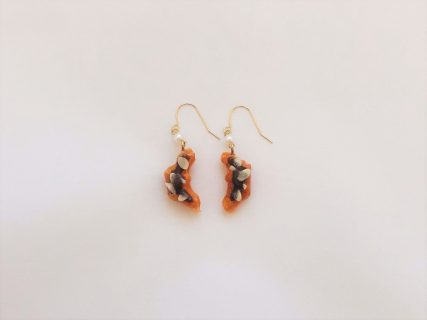 [SOLD OUT]デザートピアス [クロワッサン]